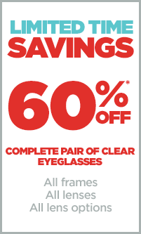 savings on eyeglasses