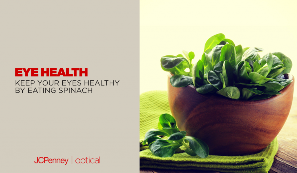spinach can help improve eyesight
