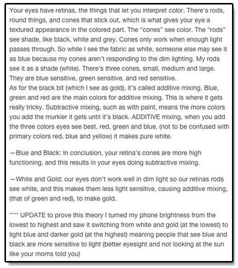dress explanation
