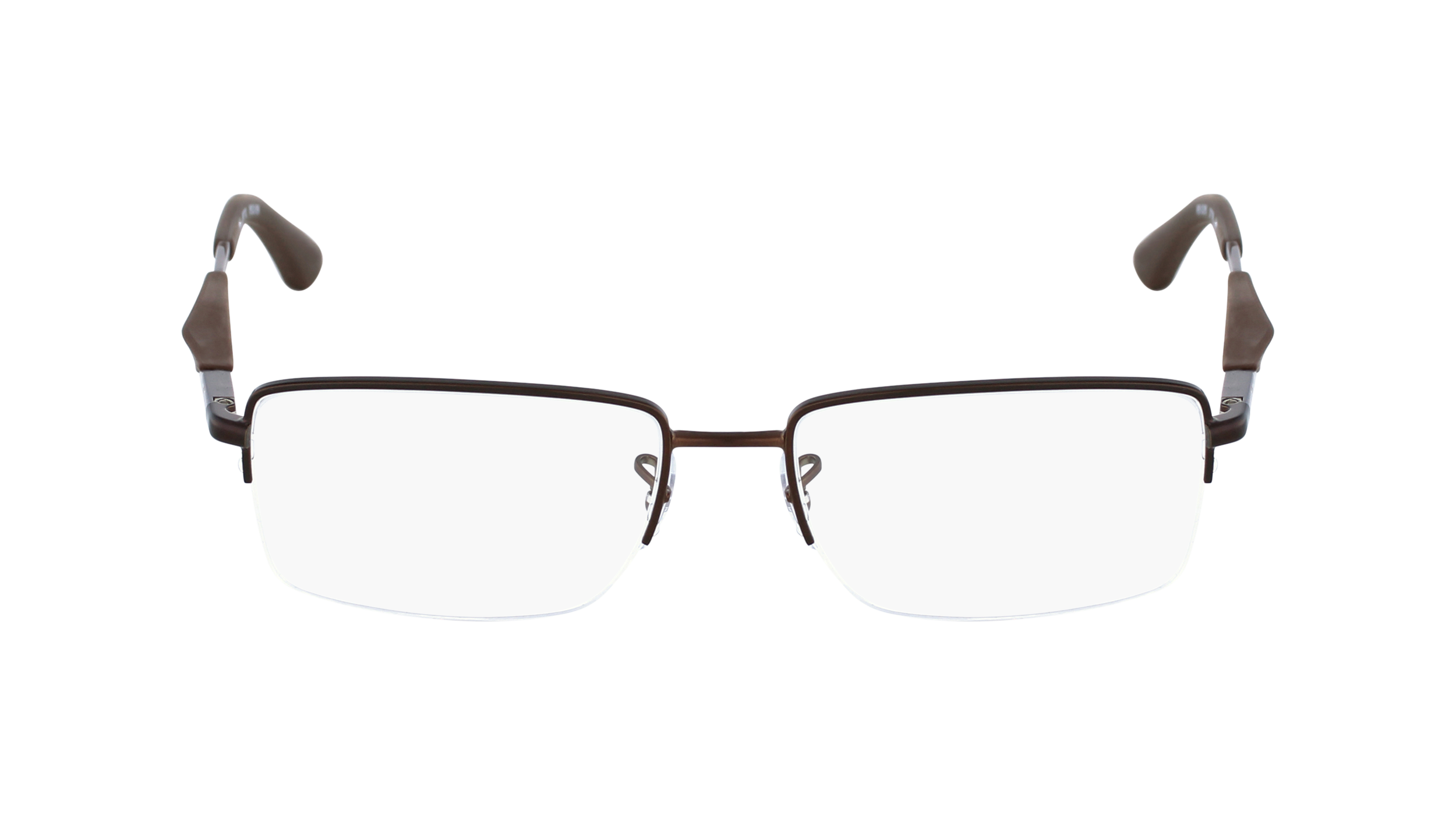 ray ban semi rimless frames